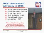 nami sacramento advocacy in 2006