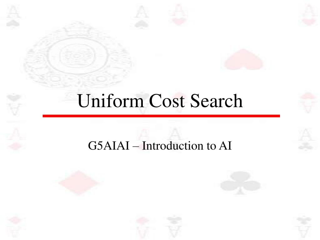 uniform cost search l.