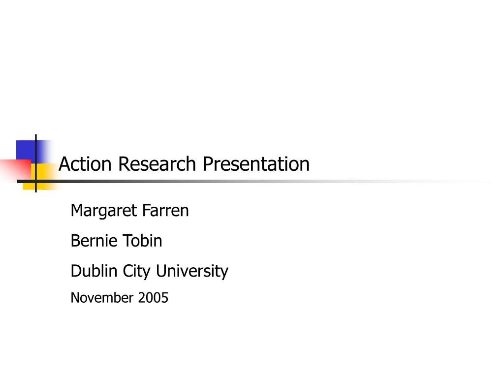 action research presentation l.
