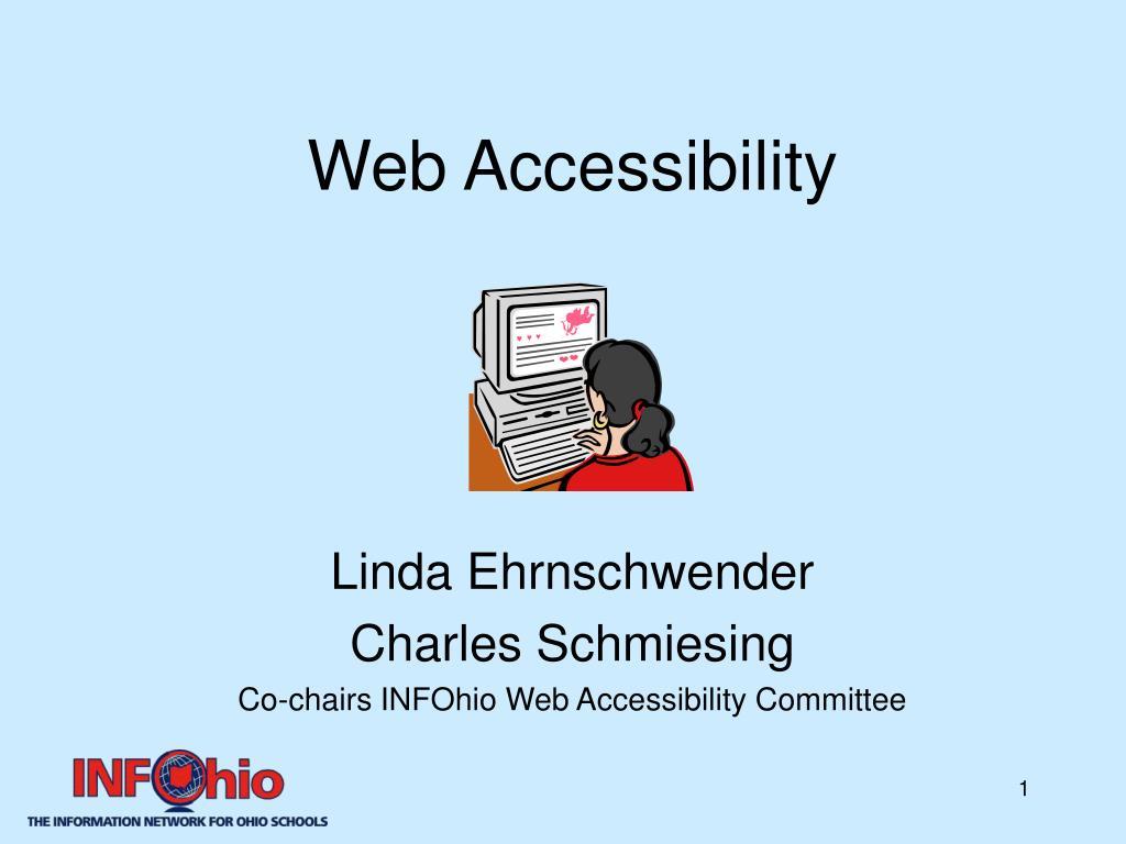 web accessibility l.