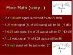 more math sorry