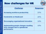 new challenges for hr
