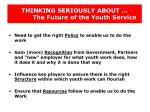 thinking seriously about the future of the youth service4