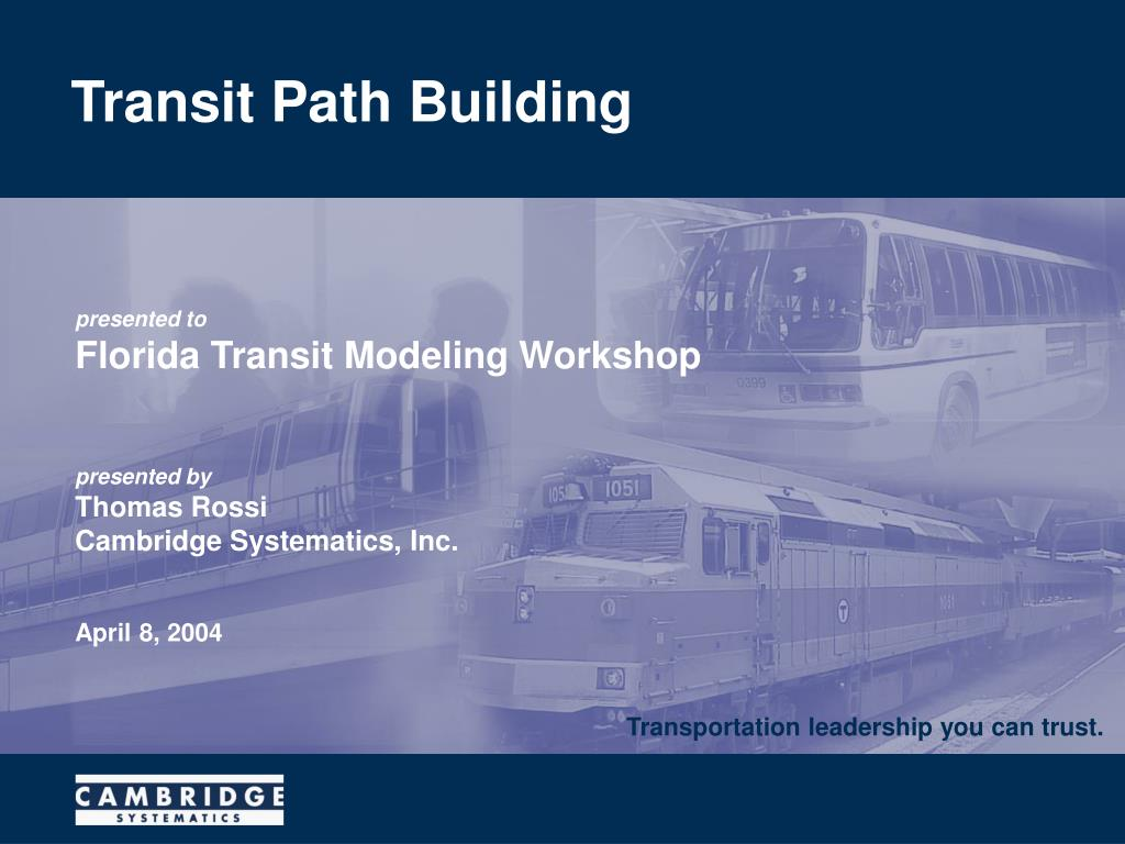 transit path building l.