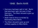 1948 berlin airlift