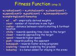 fitness function step 3