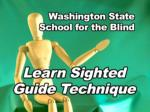 learn sighted guide technique