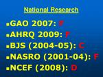 national research85