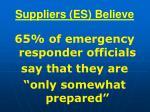 suppliers es believe94
