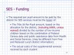 ses funding