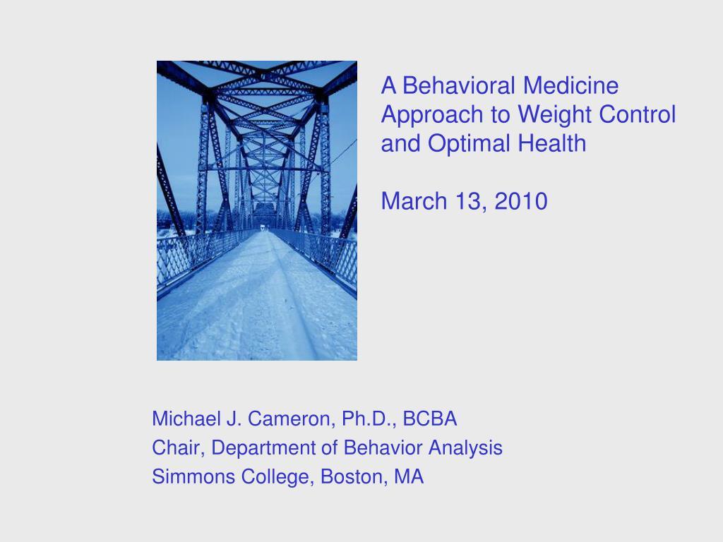 michael j cameron ph d bcba chair department of behavior analysis simmons college boston ma l.