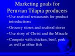 marketing goals for peruvian tilapia producers46