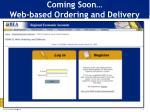 coming soon web based ordering and delivery