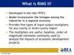 what is rims ii
