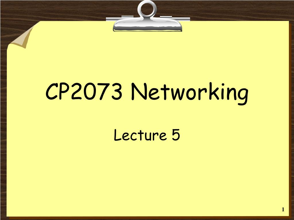 cp2073 networking l.