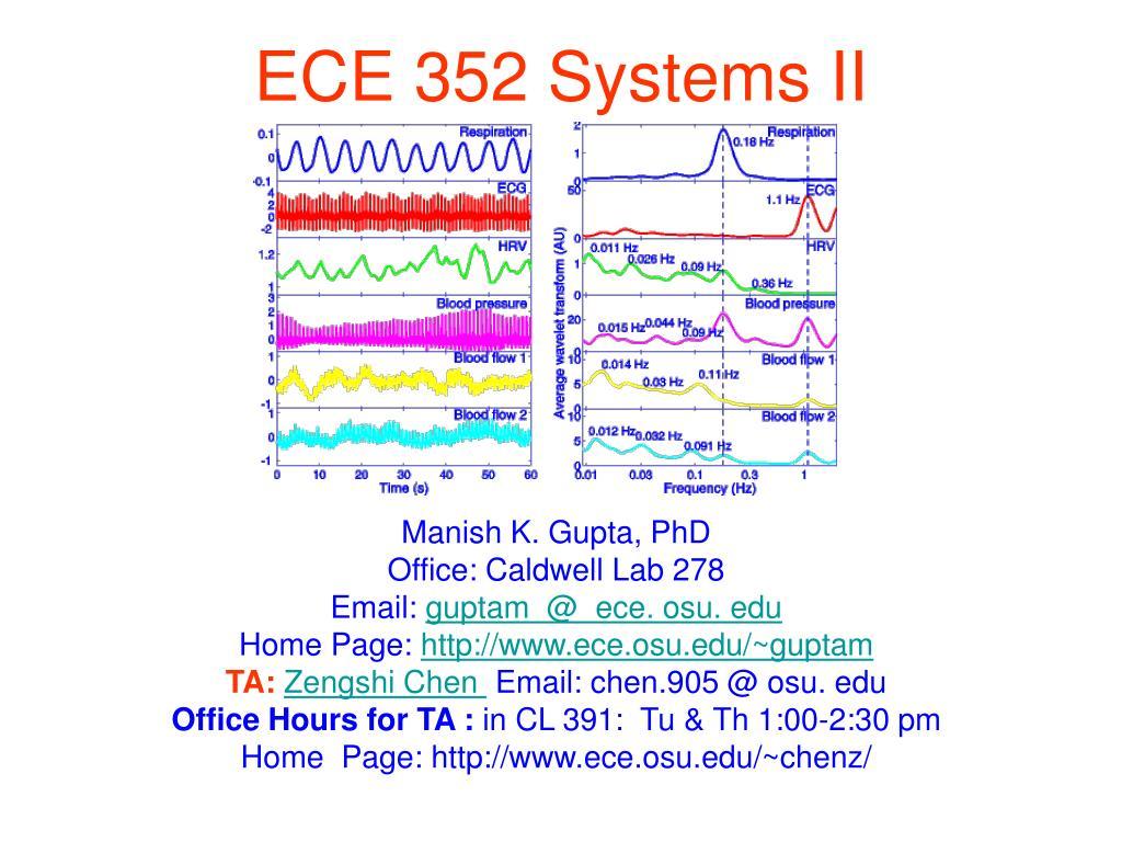 ece 352 systems ii l.