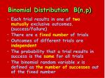 binomial distribution b n p