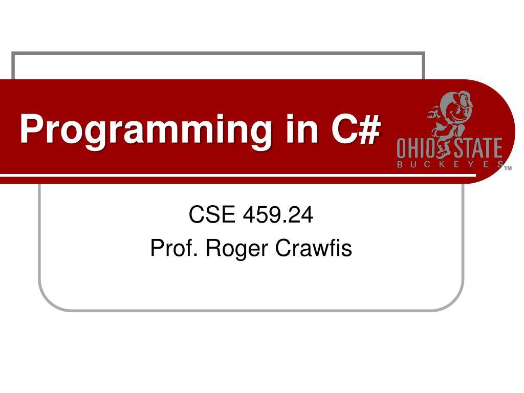 programming in c l.