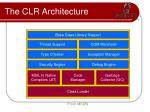 the clr architecture