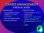 caries management