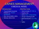 caries management