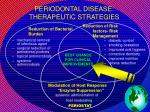 periodontal disease therapeutic strategies