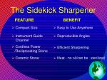 the sidekick sharpener34