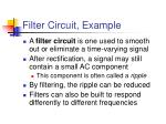 filter circuit example