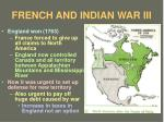 french and indian war iii