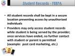 student records ferpa40