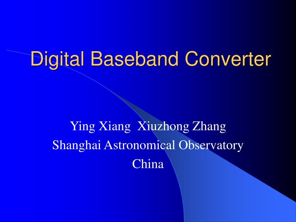 digital baseband converter l.
