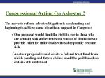 congressional action on asbestos