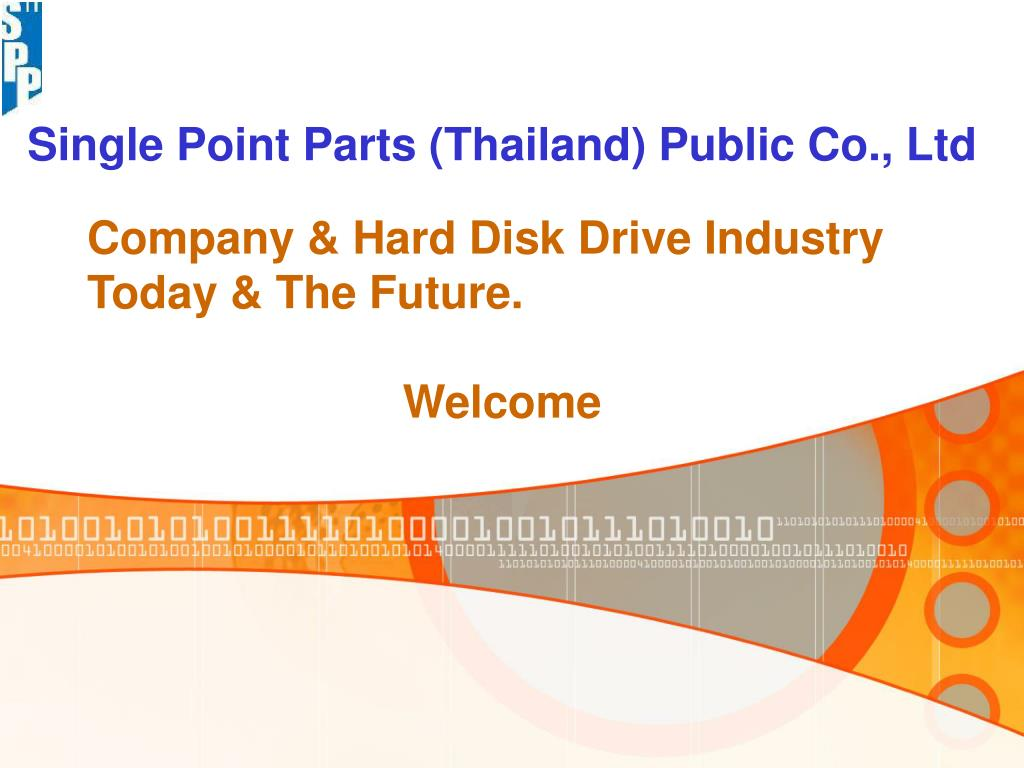 single point parts thailand public co ltd l.