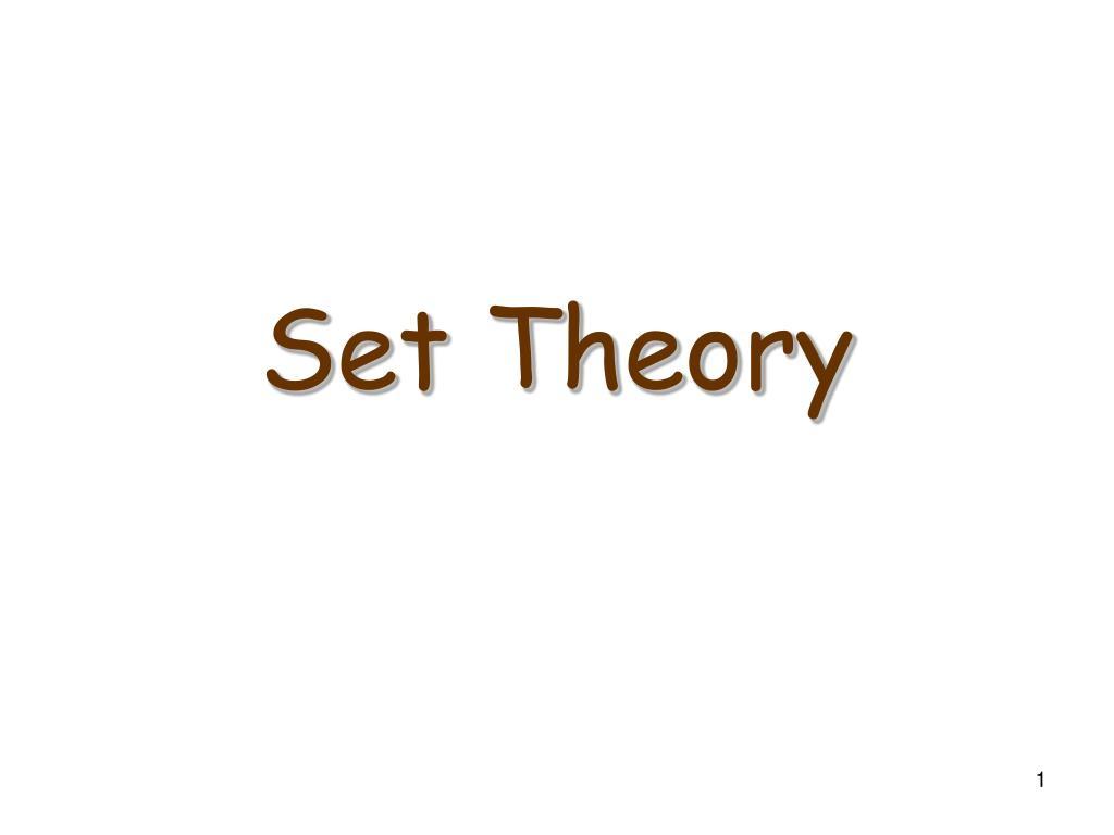 set theory l.