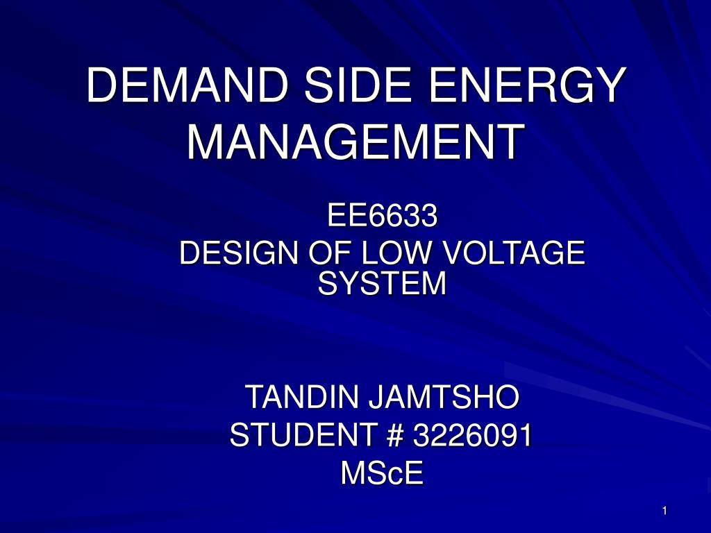 demand side energy management l.