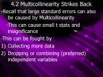 4 2 multicollinearity strikes back