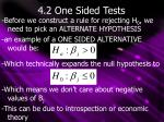 4 2 one sided tests
