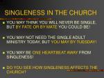 singleness in the church8