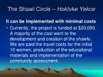 the shawl circle hoktvke yekce23