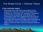 the shawl circle hoktvke yekce24