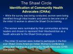 the shawl circle