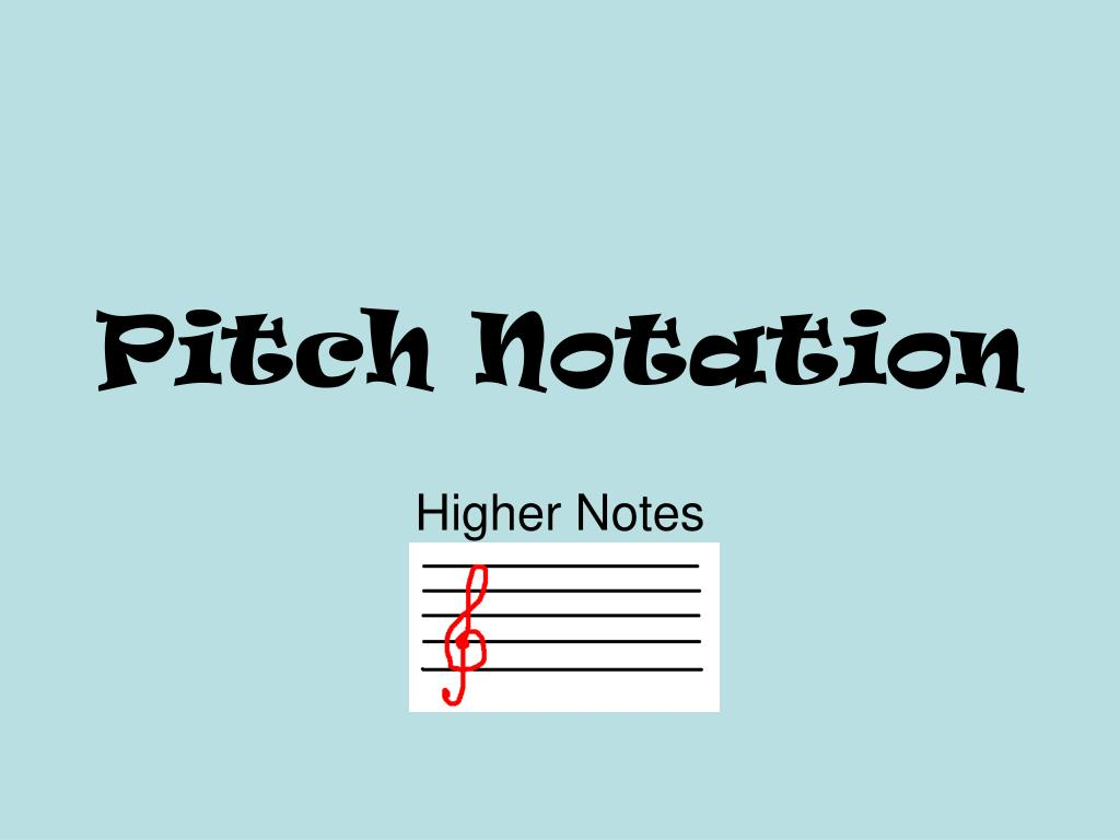 pitch notation l.