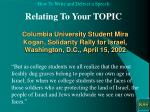 columbia university student mira kogan solidarity rally for israel washington d c april 15 2002