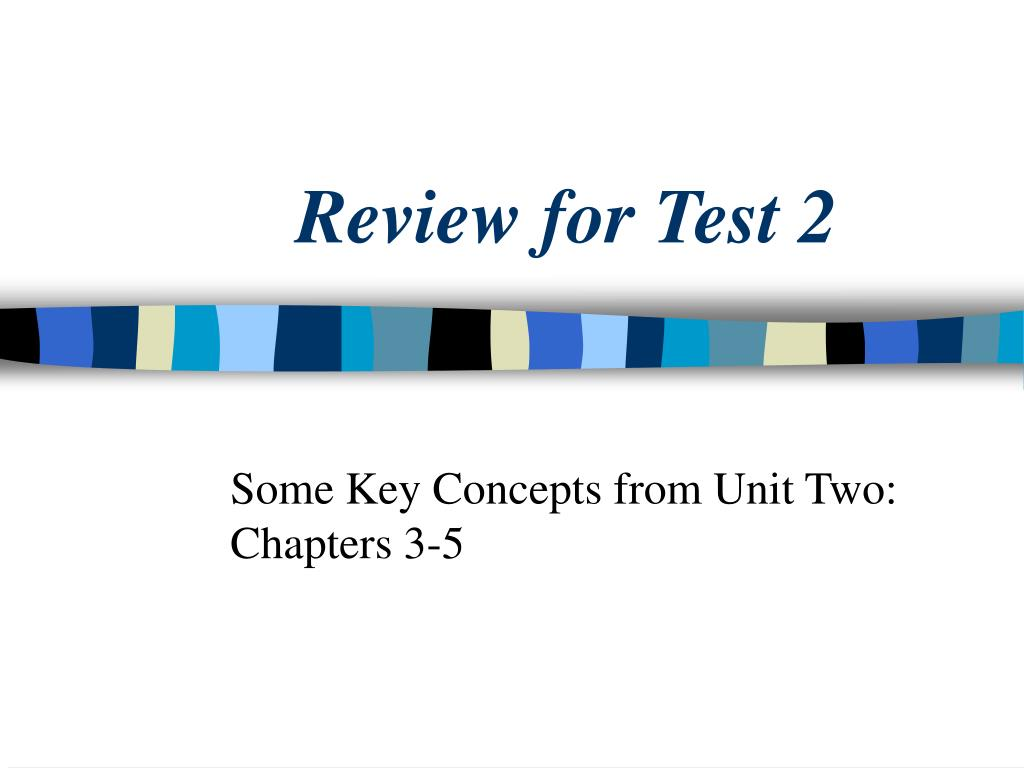 review for test 2 l.