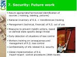 7 security future work