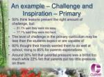 an example challenge and inspiration primary