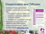 dissemination and diffusion
