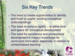 six key trends