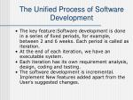 the unified process of software development7