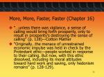 more more faster faster chapter 1625